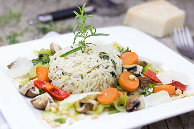 Rice for Persian cat